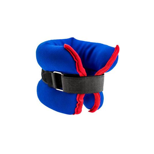 bracelets lestes 1.5 kg rouge et bleu