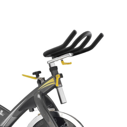 spin bike indoor cycle pro 68 p noir jaune