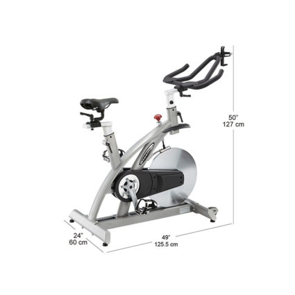 spin bike indoor cycle mesure